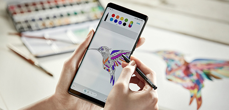 Galaxy Note 8 Mobile Review