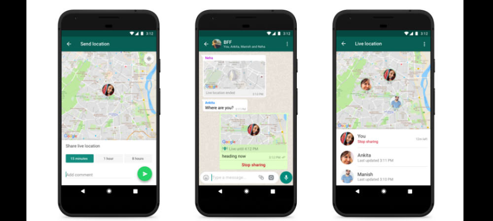 WhatsApp introduces 'Live Location' feature in app
