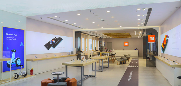 xiaomi opens first mi home experience store in chennai xitetech. Black Bedroom Furniture Sets. Home Design Ideas