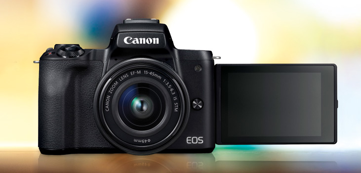 canon eos m50 price in india